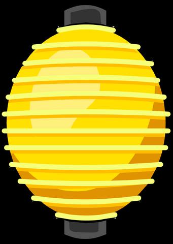 File:Yellow Paper Lantern.png