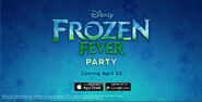 Frozen Fever Party homepage