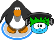 Puffle Hats Franken Hat ID 39 in game