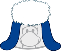 Blue Holiday Cap icon