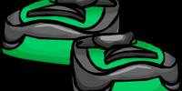Green Running Shoes
