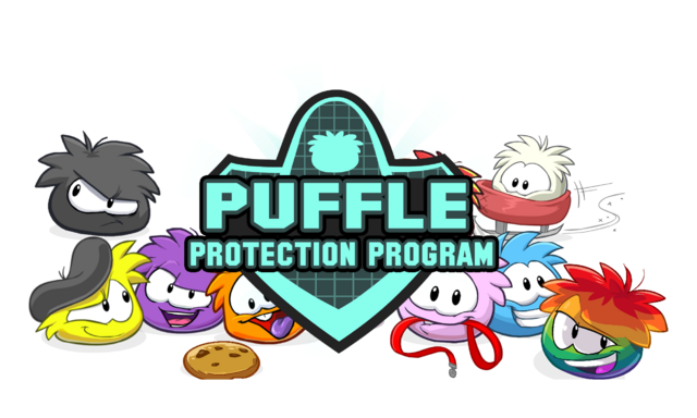 File:Puffle logo by cool pixels.png