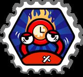 Turbo Battle stamp