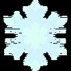 Decal Snowflake frozen icon