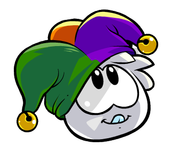 File:White Puffle With Hat.png