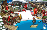 Puffle Party 2013 Cove