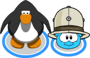 Safari Hat (Puffle Hat) In-Game