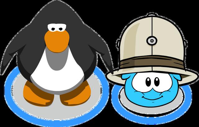 File:Safari Hat (Puffle Hat) In-Game.png