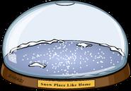 Snowglobe igloo in-game