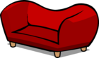 Red Plush Couch sprite 002