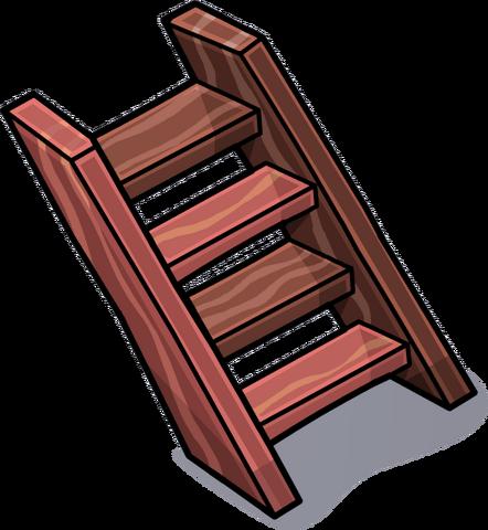 Imagen escalera de madera sprites 3 png club penguin - Fotos de escaleras de madera ...