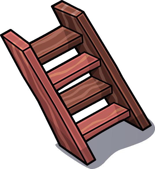 Imagen escalera de madera sprites 3 png club penguin - Imagenes de escaleras ...