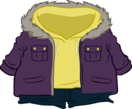 Purple Parka