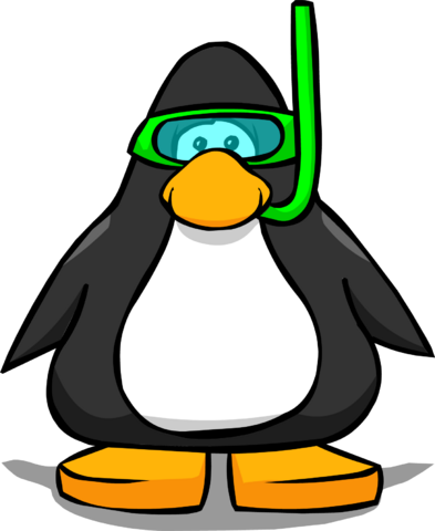 File:Green Snorkel on a Player Card.png