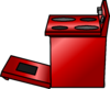 Shiny Red Stove sprite 011