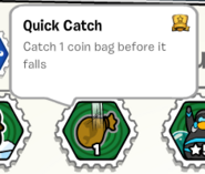 Quick catch stamp book