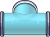 T-joint Puffle Tube sprite 052