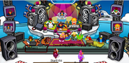 Penguin Band on Iceberg