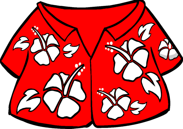 File:Red Hawaiian Shirt.PNG