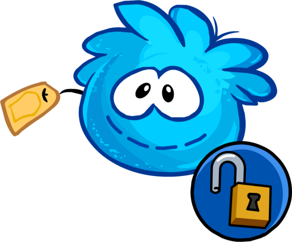 File:Blue Puffle Stuffie unlockable icon.png
