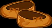 Harvest Orange Slippers