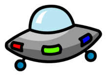 UFO Pin