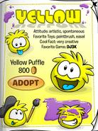 YellowPuffleCatalog