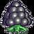 Black berry icon