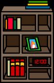 Funky Bookshelf sprite 002