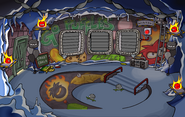 Puffle Party 2009 Underground Pool light off