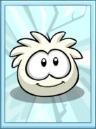 White Puffle Poster sprite 002