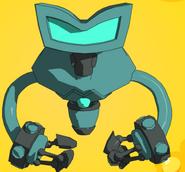 Blue 6 Robot