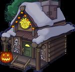 Halloween Party 2015 Ski Lodge exterior