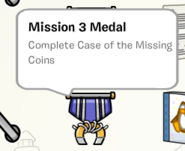 Mission 3 medal stamp book