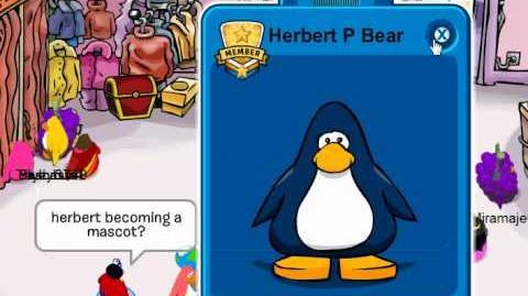 Club Penguin - Mascot Glitch