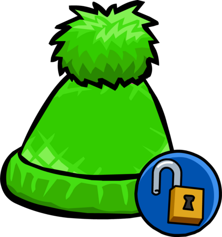 File:Green Pom Pom Toque unlockable icon.png