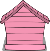 Pink Puffle House sprite 003