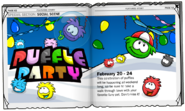 Puffle Party 2009 ad