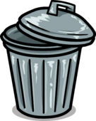 Trashcan furniture icon
