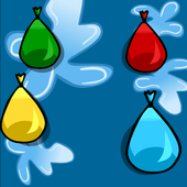 Water Balloon Background