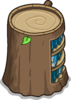 Stump Bookcase sprite 048