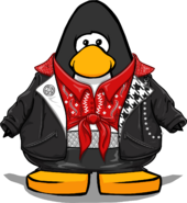McKenzie's Biker Outfit from a Player Card