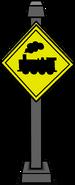 Train Crossing Sign sprite 002
