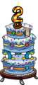2nd Anniversary Party Cake