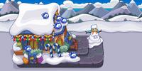 Merry Walrus Float