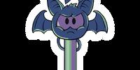 Puffle Bat Key Pin