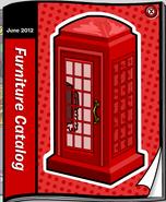 June 2012 Furniture catalog cover