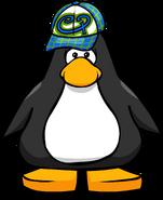 Aqua Hipster Hat PC