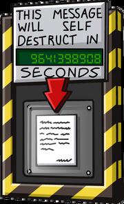 SelfDestructingMessage