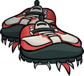 Red Hiking Shoes